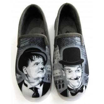 Charentaises Laurel & Hardy