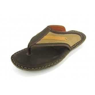 Arid Eldero marron, togue tout en cuir alliant look et confort