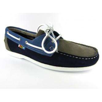 Hypmouss, une chaussure bateau aux couleurs de l'océan
