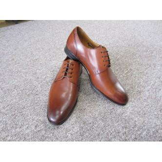 Derby Alexander Bennett réf 1330 marron, un modèle tout cuir alliant élégance et confort